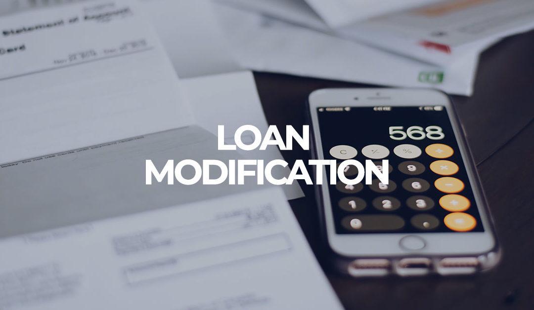 foreclosure loan modification